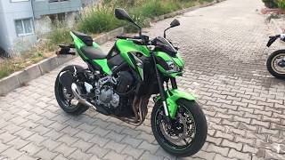 KAWASAKI Z900 EXHAUST SOUND