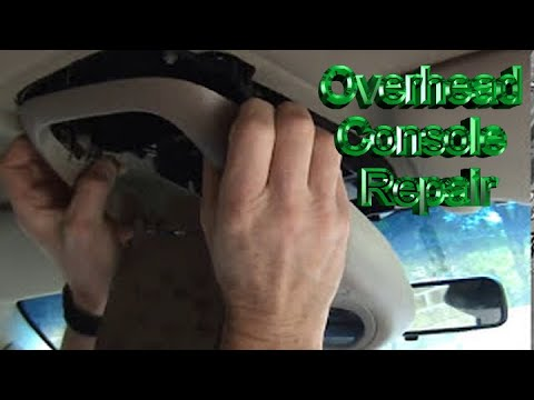 2000 Ford F150 Overhead Console Repair Youtube