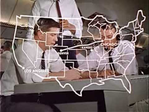 TRAVELER MEETS AIR TRAFFIC CONTROL - Vintage Film