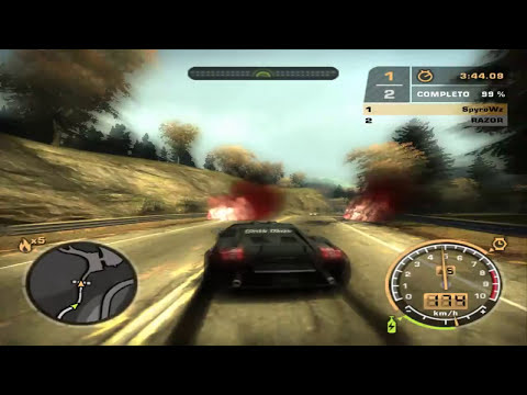 Need For Speed Most Wanted Rival Razor Parte 1