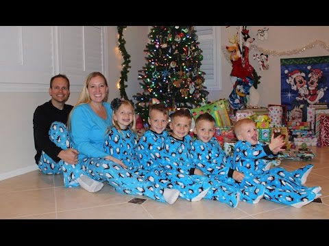 """This is how our Christmas went this year: Stayed up """"late"""" on Christmas Eve. As a result, we REALLY slept in--no early risers around here, that's for sure! I like to watch everyone open their..."""