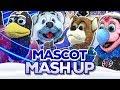 Mascot Mash Up (NHL, NBA, MLB)