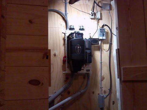 Off Grid power closet updates
