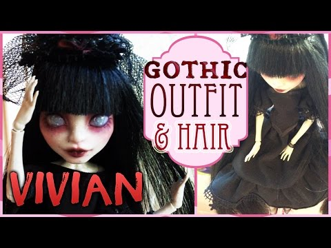 Vivian Monster High Rochelle Haircut And Outfit Gothic Crown