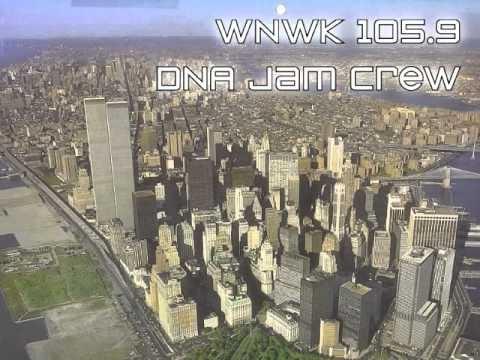 Radio recording of WNWK 105.9 Jam Crew mix show - 1987-88 timeframe. Jam Crew intro, followed by Kool G. Rap/Men at Work then Rakim/Put Your Hands Together.