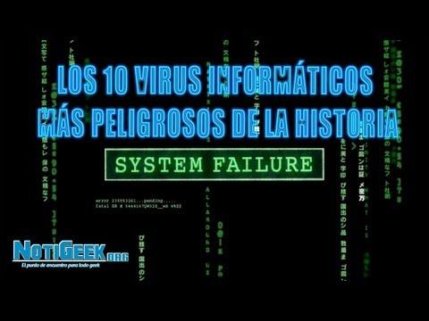 Los 10 virus informáticos mas peligrosos de la historia