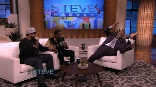 Surprise! Ice Cube & Kevin Hart in disguise || STEVE HARVEY