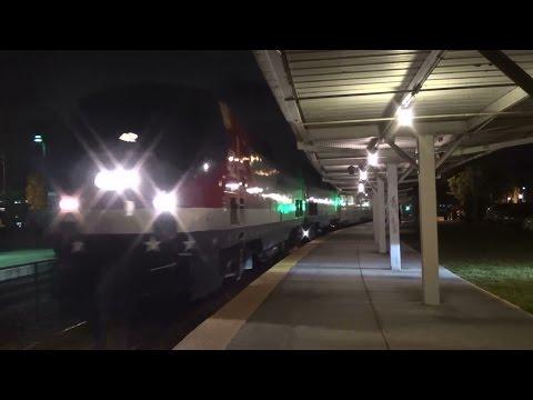 Tri Rail BL Units And AMTK P937 At West Palm Beach Tri Rail/Amtrak Station