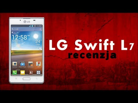 [Mobileo #34] Recenzja Lg Swift/Optimus L7   Test PL