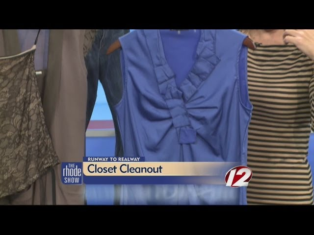 Jill Marinelli's closet cleanup tips