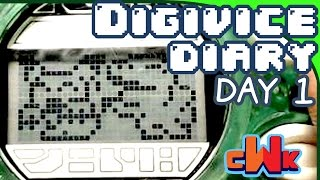 Digivice Diary - My Worst Nightmare (Digimon Digivice Toy, Day 1) - CWK