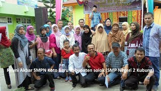 Koto Baru Junior High School Reunion / SMPN 2 Kubung Solok District in 2017