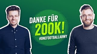 XXL ASK US ANYTHING! 😎🤔Onefootball 200k-Abonnenten Special Teil 2 🔥