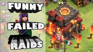 Clash of Clans- *BIGGEST QUEEN AI FAIL EVER?!* Plus MLG Town Hall Snipe Fail!