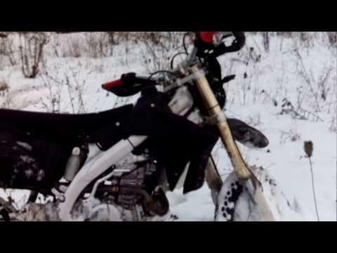 Обзор мотоцикла stels  ld450 эндуро зима.