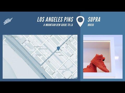 Los Angeles Pins - Supra