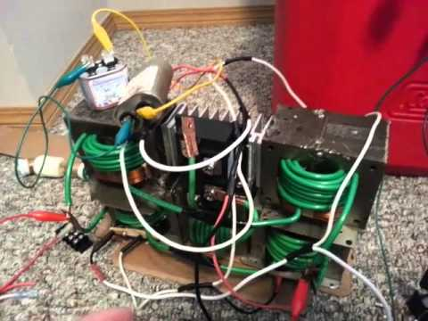 Homemade DC MOT Arc Welder