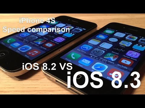 iOS 8.3 vs iOS 8.2 on iPhone 4S