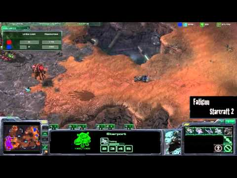 Thumb Starcraft 2 Zergs vs Terrans: Idra(Z) vs NamhciR(T) (Blistering Sands)