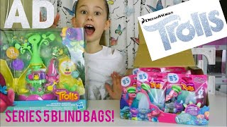 DreamWorks Trolls Series 5 Blind Bags Opening & Poppy's Camp Critter Pod Review & GIVEAWAY