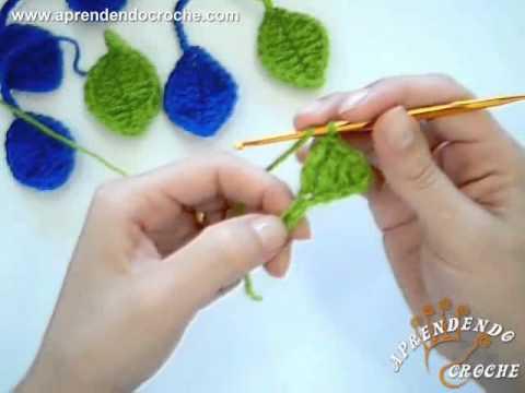 Flores em croche como fazer