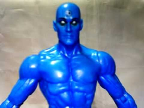 Hi, I'm a Marvel...and I'm a DC: Wolverine and Watchmen (Dr. Manhattan) Video