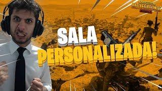 PUBG MOBILE - SALA PERSONALIZADA