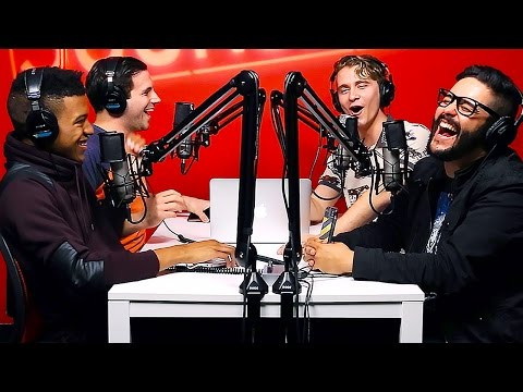 How We Got Girls To Kiss Us - Sourcefed Podcast video