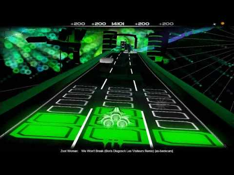 Audiosurf: Zoot Woman - We Won't Break (Boris Dlugosch Les Visiteurs Remix)