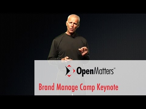 Brand Manage Camp:  Keynote