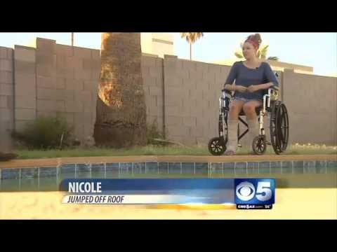 Video Of Valley Teen Jumping Off Roof Missing Pool Goes
