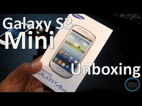 [Unboxing] Galaxy S3 Mini i8190 (Español Mx)