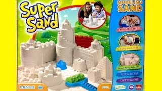 Super Sand Castle Playset SuperSand Modeling Sand Make Your Own Sand Castle DIY Castillo de Arena