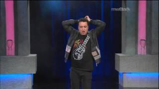Comediante Colombiano Andres Lopez Contando Chistes en Esta Noche Tu Night (1-20-12)
