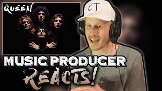 Music Producer Reacts to Queen - Bohemian Rhapsody!! (A TRUE MASTERPIECE!!!)
