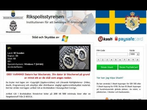 How to remove Rikspolisstyrelsen virus