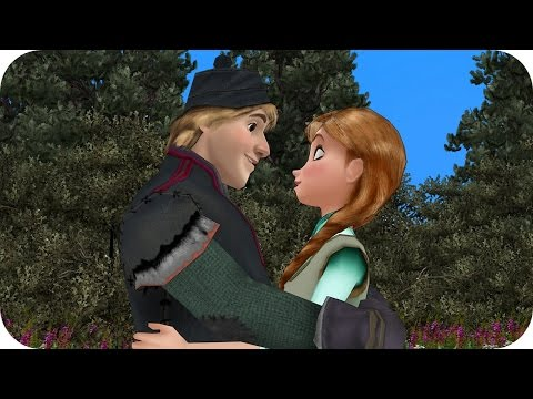 Elsa & Anna of Arendelle - Kristoff & Anna in Love? - Episode 8 - Frozen Princess Parody