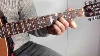 Как играть Snoop Dogg для НАЧИНАЮЩИХ на гитаре видео разбор