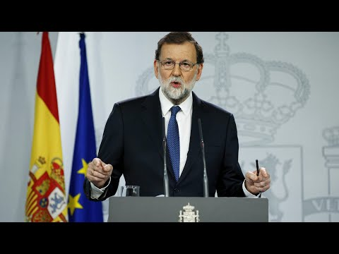 Rajoy pushes to remove Catalan government and calls for regional elections