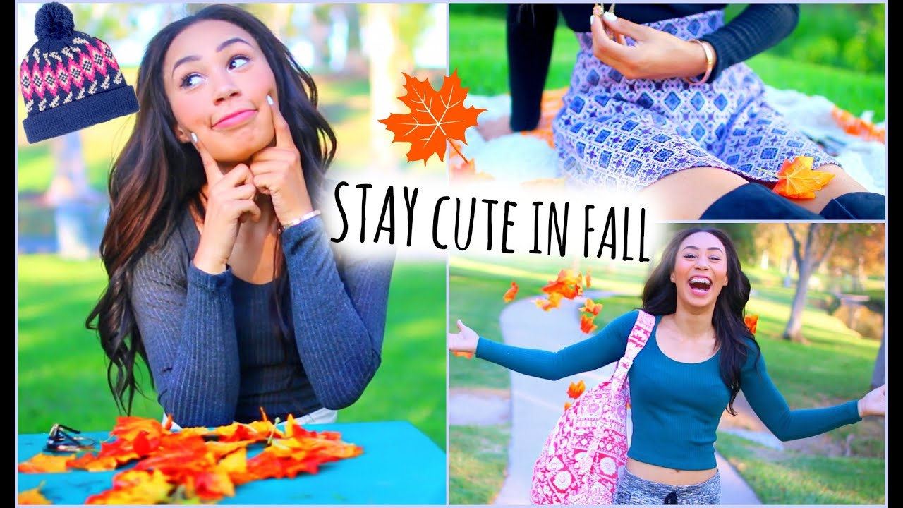 Cute And Warm Fall Outfit Ideas How To Look Good While