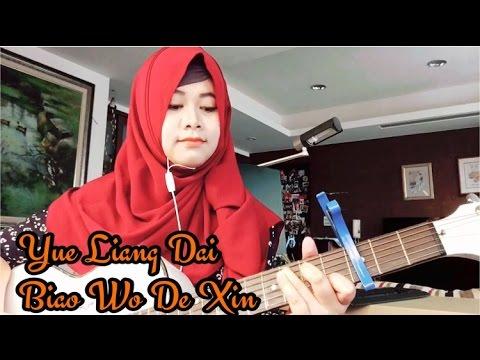 Maryaisma Nyanyi Lagu Mandarin - Yue Liang Dai Biao Wo De Xin