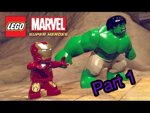[Lego Marvel super heroes] - Part1 - จัดการเลยไอรอนแมน ยิงมันด้วยปืนฉีดนํ้า