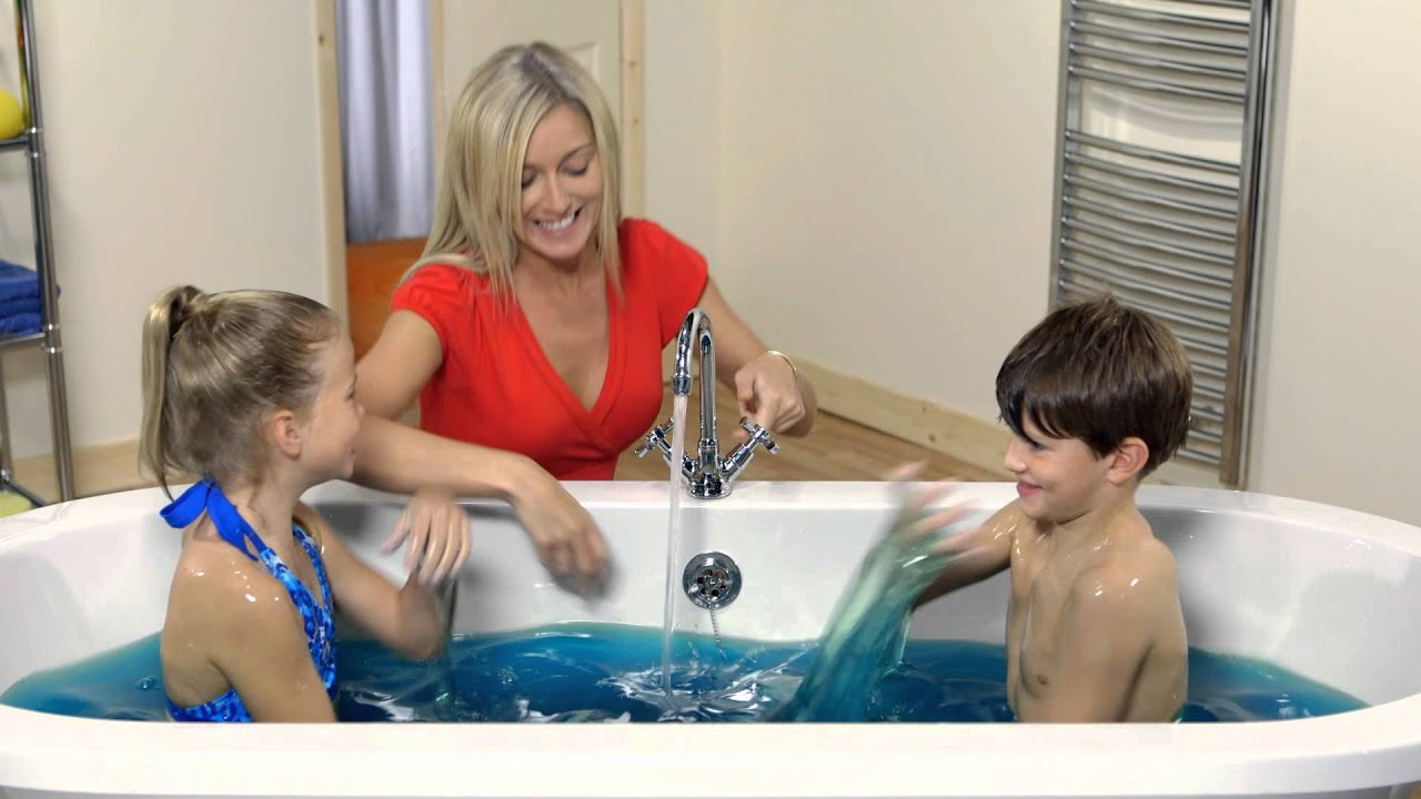 bathing bukkake Girl in goop