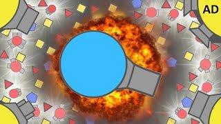 DIEP.IO   RANGER VS DOMINATORS DOMINATION GAMEMODE DESTRUCTION!!
