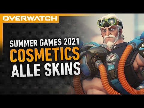 Overwatch Sommerspiele 2021 Cosmetics | Alle Skins + Items