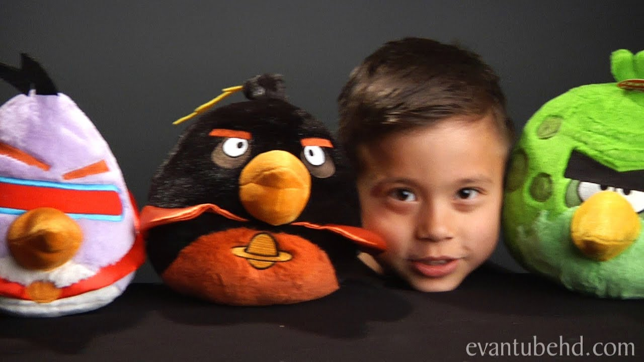 Angry birds space complete plush collection youtube - Angry birds big brother plush ...