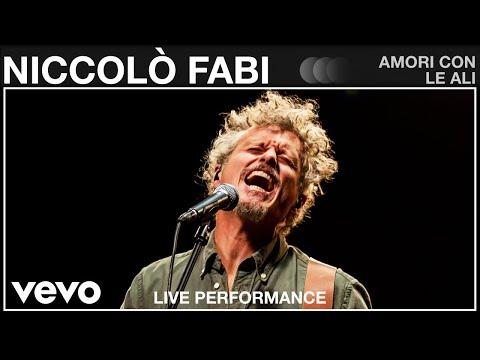 Niccolò Fabi - Amori Con Le Ali – Live Performance | Vevo