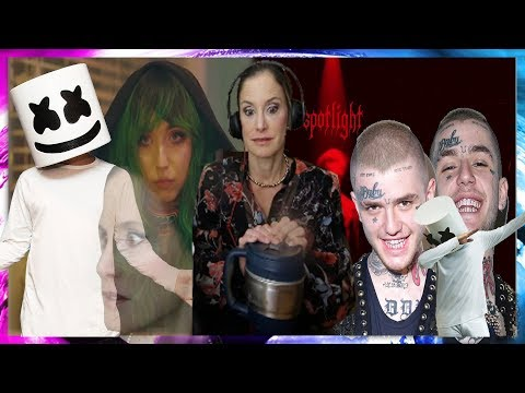 MOM REACTS TO LIL PEEP X MARSHMELLO - SPOTLIGHT (OFFICIAL MUSIC VIDEO) MP3
