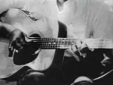 Big Bill Broonzy plays