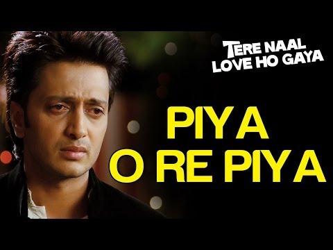Piya O Re Piya (Sad) - Tere Naal Love Ho Gaya   Riteish Deshmukh & Genelia D'Souza   Atif Aslam